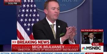 Mulvaney Tries And Fails To Explain Reasoning For Cutting Meals On Wheels, School Lunches