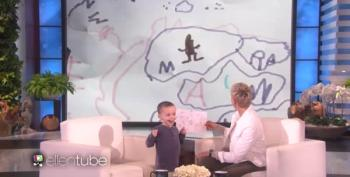 Little Geography Expert Makes A Joke On 'Ellen'