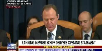 Adam Schiff At Comey Hearing: It's About Trump And Russians
