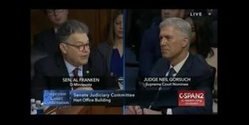 Gorsuch Hearing: Al Franken Brings Up Merrick Garland