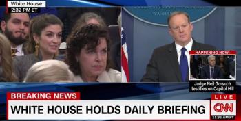Sean Spicer Gives A Six Word Non-Answer To Trump's Wiretapping Claims