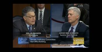 Al Franken Calls Out Judge Gorsuch's Reasoning As 'Absurd'