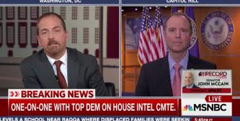 Rep. Adam Schiff On Trump/ Russian Collusion: Case 'Is More Than Circumstantial Evidence Now'