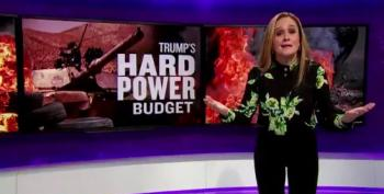 Samantha Bee Skewers Trump's 'Hard Power' Budget