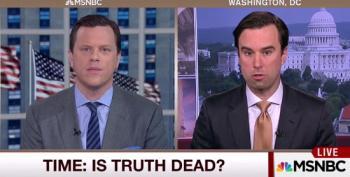 Time's Michael Scherer: Trump Revels In Using 'Falsehoods'  To 'Spread Information'