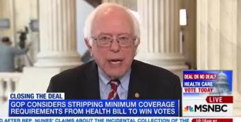 Bernie Sanders: Trump Is A Liar On Healthcare And Manafort