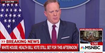 Spicer Defends Ryan's Handling Of Trumpcare