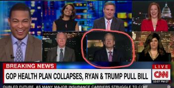 Trump Surrogate Leaves CNN Panel In Stitches With Nonsensical Defense Of AHCA Failure