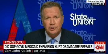 Kasich: If Republicans Reach Out To Democrats We Could 'Marginalize The Extremes'