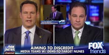 Fox Panelist Blames 'Latte Sipping' Press On Nunes Coverage