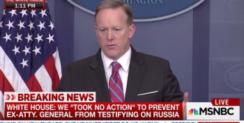 Spicer On The Washington Post: 'I Hate To Give [their Website] The Traffic'
