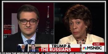 Rep. Maxine Waters Rains Fire: 'Trump Doesn't Deserve To Be President'