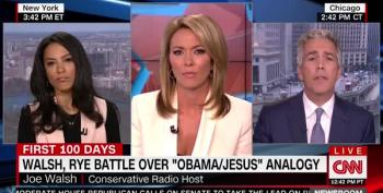 Angela Rye Slaps Joe Walsh For His Racist Claims About Obama