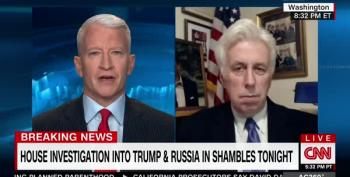 CNN Troll Jeffrey Lord Wants Schiff Investigated For 'Collusion' With Nancy Pelosi