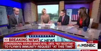 Senate Intel Committee Says No Immunity Yet For Flynn