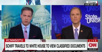 Rep. Schiff: 'Whenever We See [Trump] Use The Word 'Fake' It Ought To Set Off Alarm Bells'
