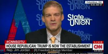 Rep. Jim Jordan On Working With Dems:  'If They Are Willing To Do What We Told The Voters We Were Going To Do'