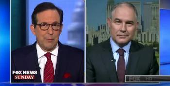 Chris Wallace Nails EPA Secretary Pruitt For Enabling Polluters