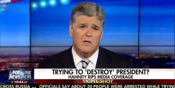 Hannity Pretends There Is 'Zero' Evidence Trump Campaign Colluded With Russia