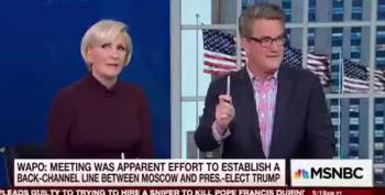 Trump 'Advisor' Joe Scarborough Reveals White House Is Full Of Idiots