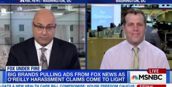 WaPo's Erik Wemple Tells MSNBC: A Real News Organization Would Fire Bill O'Reilly