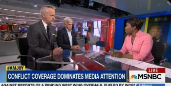 AM Joy Panel Slams Media's Desperation To Normalize Trump Presidency