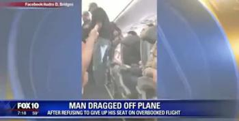 United Passenger Dragged From Plane Due To Overbooking