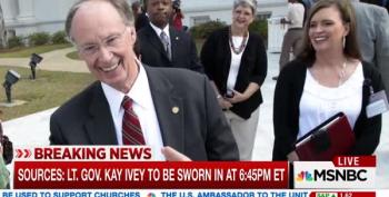Alabama Governor Robert Bentley Resigns Before He's Impeached