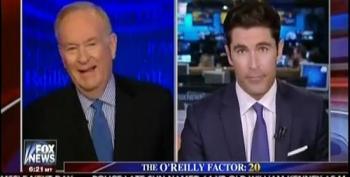 O'Reilly Chuckles Over Airline Passenger Forcibly Removed From Plane