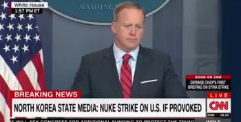Sean Spicer:  'Even Hitler Never Used Chemical Weapons'