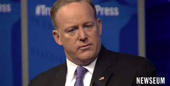 Sean Spicer Apologizes Again For Making Hitler Gaffe
