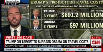 Trump's Travel Costs At This Pace? $691 Million