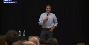 Sen. Jeff Flake Has A Rough Town Hall