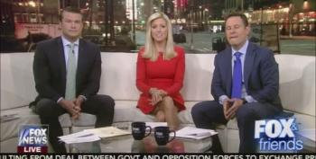 Fox And Friends Celebrates Trump Giving Detainees 'Dirty Sheets'