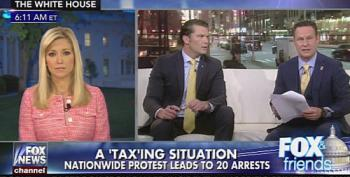 Fox And Friends: Who Paid Tax Rally Protesters?