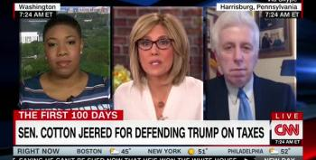 Symone Sanders To Jeffrey Lord: 'You Are A Hypocrite'