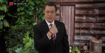 Stephen Colbert Bids Adieu To Papa Bear