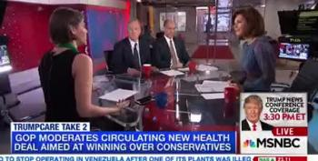 MSNBC Panel Can't Believe Paul Ryan Wants To 'Repeal Obamacare' Again