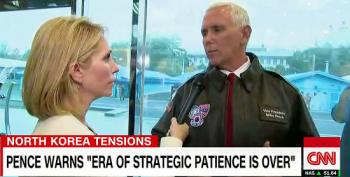 Mike Pence Shows Up At The DMZ