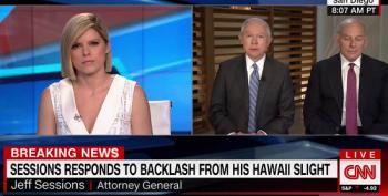 Jeff Sessions Doubles Down On Hawaii Comments