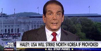 Krauthammer Gleefully Imagines Possible Preemptive Nuclear Strike On North Korea