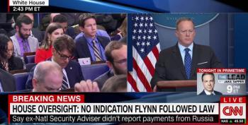 Why Wasn't Gen. Flynn Properly Vetted? Spicer: 'He Filled Out The Forms'