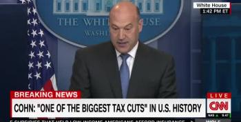 Gary Cohn On Trump Tax Plan: 'We Will Be Attacked From The Left' And 'From The Right'