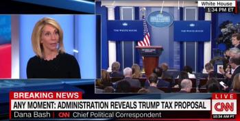 Dana Bash On Tax Cuts Alone: Republicans 'On Capitol Hill Say It Doesn't Work'