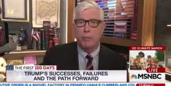 Hewitt Gives Trump A Solid 'B' For His Disastrous First 100 Days
