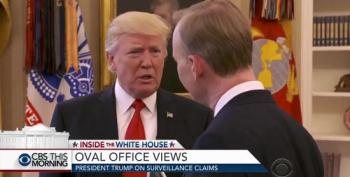 Trump Abruptly Ends Interview After Wiretap Question
