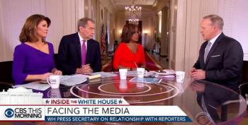 Sean Spicer Whines: The Press Play 'Who Can Stump The Chump' During His Briefings