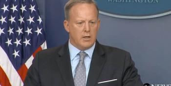 Sean Spicer Confirms White House Considering Destruction Of First Amendment