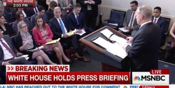 Sean Spicer Lies To People With Pre-Existing Conditions
