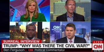Conservative CNN Panelist Whines About 'Race Card Being Thrown Around' Over Civil War